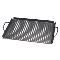 Outset Non-Stick Grill Grid With Handles