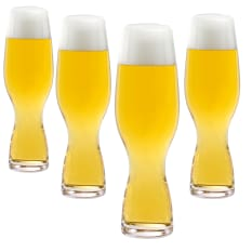 Spiegelau Lead-Free Crystal Craft Beer Pils Glasses, Set of 4