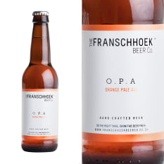The Franschhoek Beer Co O.P.A. Orange Pale Ale