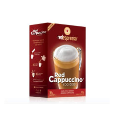Red Espresso Instant Red Cappuccino, Pack of 10