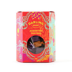 Darling Sweet Assorted Toffee Gift Box, 360g