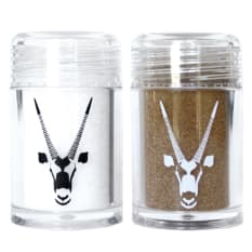 Oryx Desert Salt Salt & Pepper Travel Shaker Set