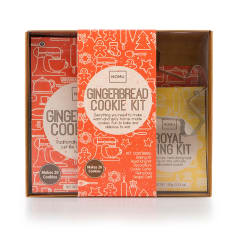 NOMU Festive Gingerbread Cookie Kit