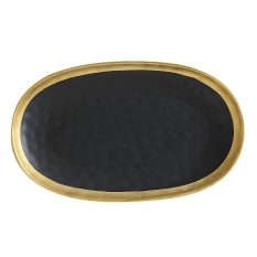 Maxwell & Williams Swank Black Oblong Platter