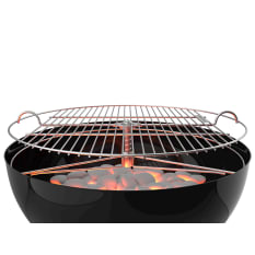 Grill Up Height Adjustable Stainless Steel Braai Grid, 57cm