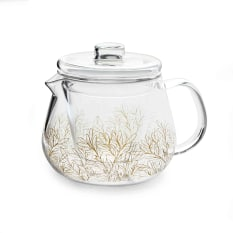 Eetrite Decorative Glass Teapot with Infuser