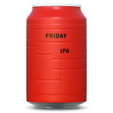 AND UNION Friday Uber IPA Can