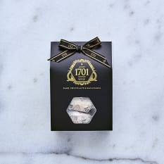 1701 Nougat Dark Chocolate & Roasted Macadamia Nougat Box, 160g