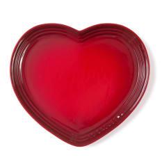 Le Creuset Large Heart Shaped Plate