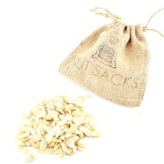 Nut Sacks The Nuts & Bolts Cappuccino Flaked Almonds, 100g