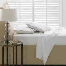 Linen House Basel 500 Thread Count Flat Sheet