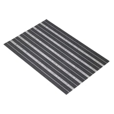 KitchenCraft Blacks & Greys Rectangular Woven Placemat