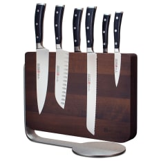 Wusthof Classic Ikon 6 Piece Magnetic Knife Block Set