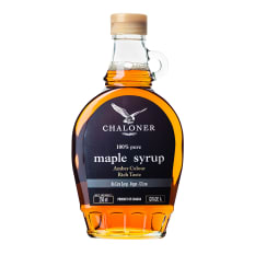 Chaloner Grade A Dark Amber Maple Syrup, 250ml