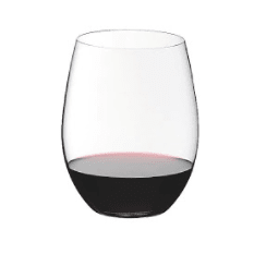 Riedel Stemless O Limited Edition 260 Year Red Wine Glasses, Set of 6