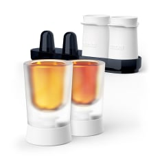 Zoku Silicone Shooter Ice Moulds, Set of 4
