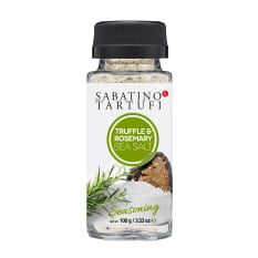 Sabatino Truffle & Rosemary Sea Salt, 100g