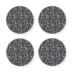 Carrol Boyes Secret Garden Side Plates, Set of 4
