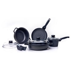Risoli Granito 9 Piece Cookware Set
