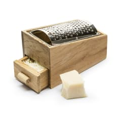 Sagaform Oak Cheese Grating Set