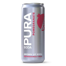 Pura Soda Pomegranate Soda