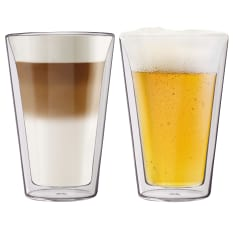 Humble & Mash Double Wall Glasses, Set of 2