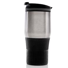 Humble & Mash Stainless Steel Double Walled Travel Mug, 440ml