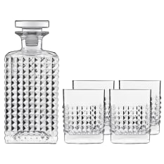 Luigi Bormioli Elixir 5 Piece Whisky Set