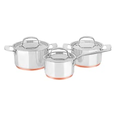 Legend Heritage Chef 6 Piece Stainless Steel Cookware Set