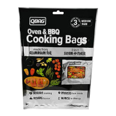 Qbag Aluminium Foil Cooking Bag with Window