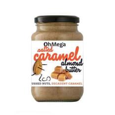 Oh Mega Salted Caramel Almond Butter, 400g