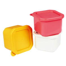Lock & Lock Mini Containers, Set of 3
