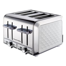 Russell Hobbs Diamond 4 Slice Toaster