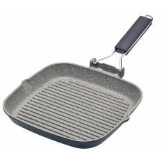 MasterClass Cast Aluminium Folding Handle Grill Pan
