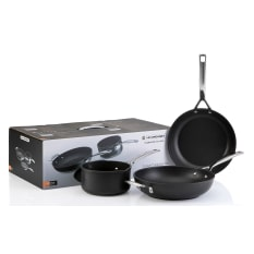 Le Creuset Toughened Non-Stick 3 Piece Cookware Set