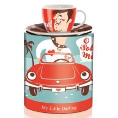 Ritzenhoff My Little Darling Espresso Cup with Saucer, 80ml