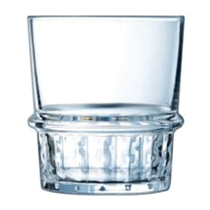 Arcoroc New York Whiskey Tumbler Glasses, Set of 6