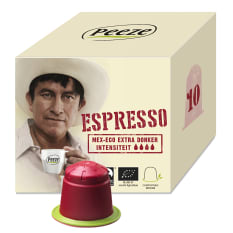 Peeze Coffee Biodegradable Coffee Pods Espresso Mex Eco, Pack of 10
