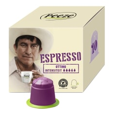 Peeze Coffee Biodegradable Coffee Pods Espresso Ottimo, Pack of 10