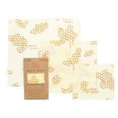 Bee's Wrap Patterned Food Wrap, Set of 3
