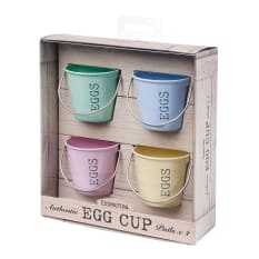 Eddingtons Egg Cup Pails, Set of 4