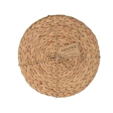 Creative Tops Naturals Water Hyacinth Round Mats, Pack of 4