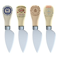Creative Tops Gourmet Cheese Cheese Knives, Set of 4