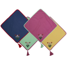 Creative Tops Katie Alice Festival Folk Napkins, Set of 4