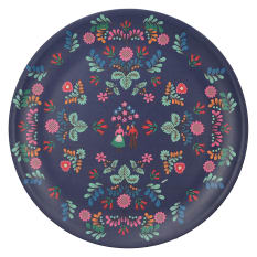 Creative Tops Katie Alice Festival Folk Picnic Dinner Plate