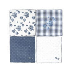Creative Tops Katie Alice Vintage Indigo Napkins, Set of 4