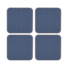 Creative Tops Katie Alice Vintage Indigo Premium Coasters, Pack of 6