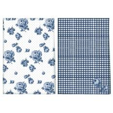 Creative Tops Katie Alice Indigo Tea Towels, Set of 2