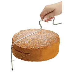 KitchenCraft Adjustable Cake Cutting Wire