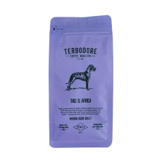Terbodore Coffee Roasters This is Africa Filter Ground Coffee, 250g